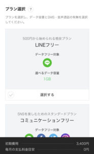 LINEモバイル手続き8